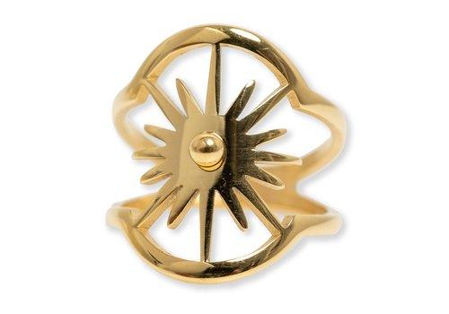 Bracha Burst Oval Ring