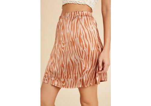 Wishlist Wild Side Mini Skirt