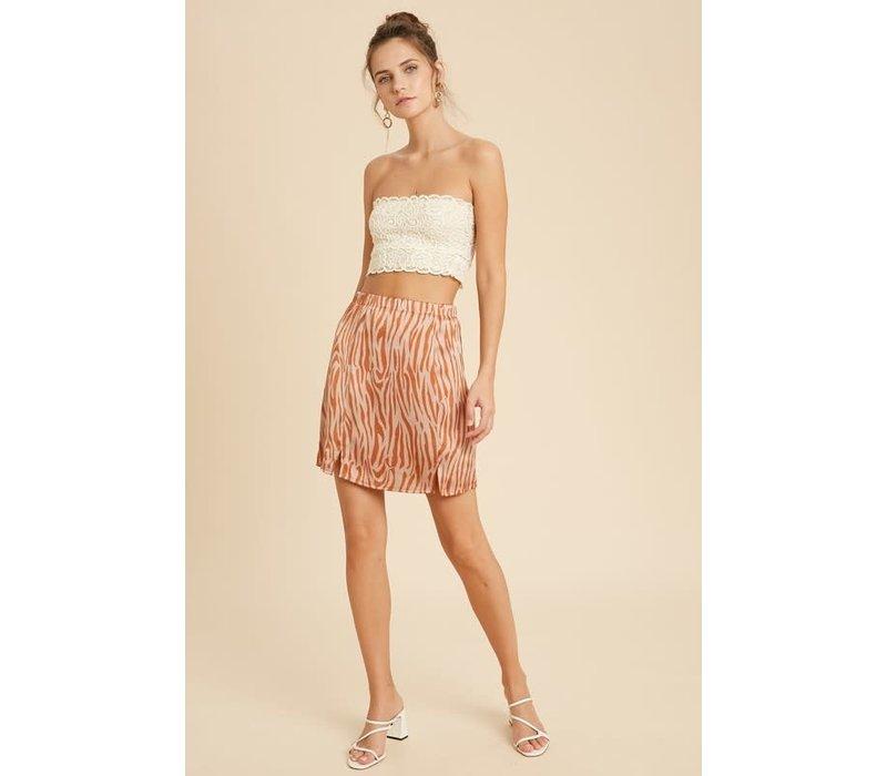 Wild Side Mini Skirt