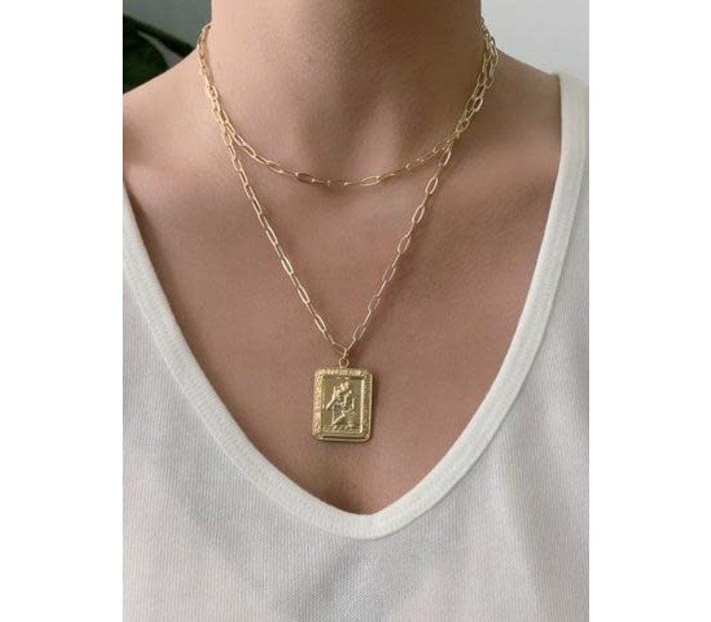 Travelers Token Necklace