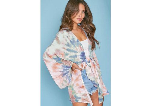 Peach Love California All You Need Kimono
