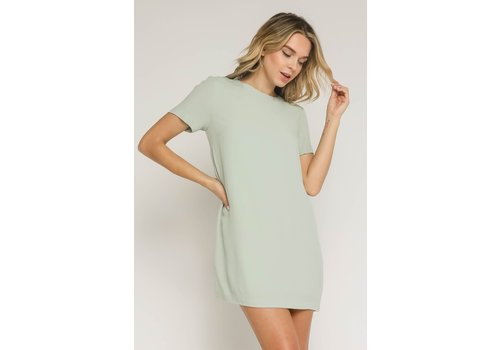 Olivaceous Never Take It Off Dress