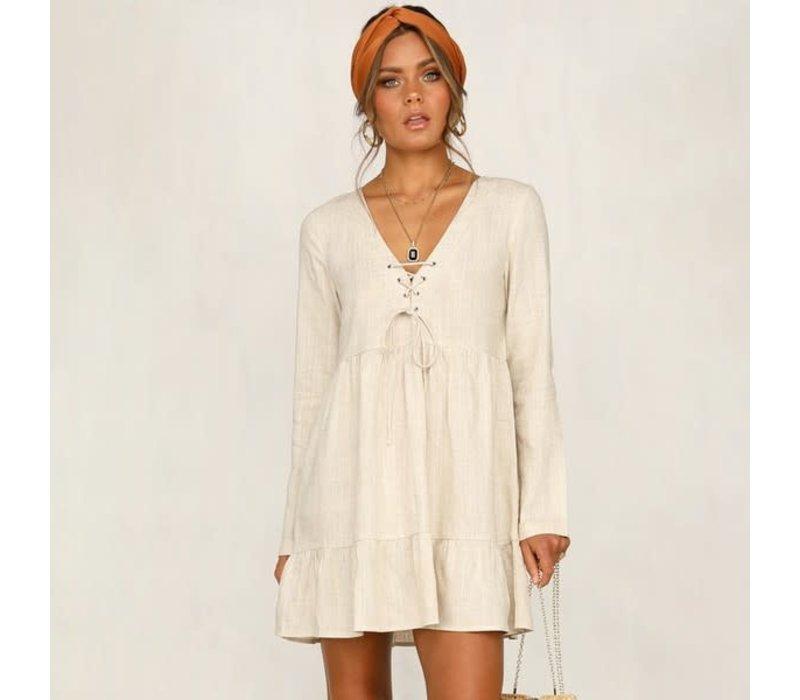 Lita Linen Dress