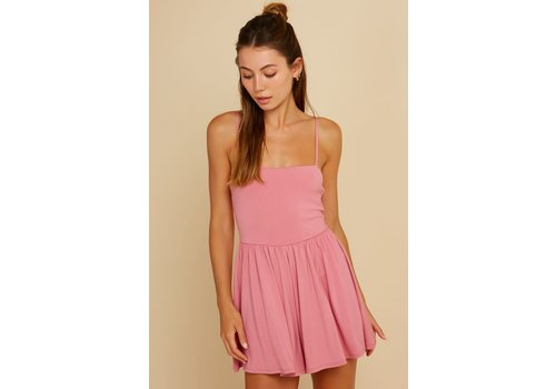 Blue Blush Roadtrip Romper