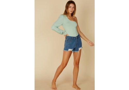 Blue Blush Sage On Bodysuit
