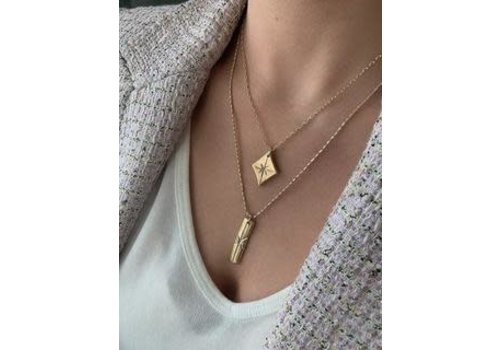 Farrah B Flash Necklace