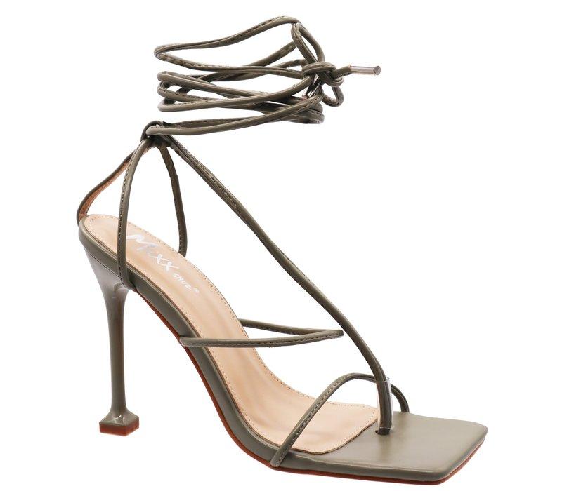 Nicky Wrap Heels