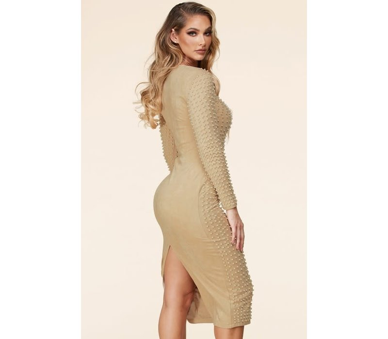 Only Pearl Midi Dress