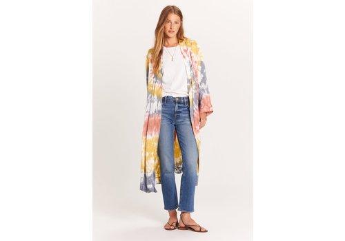 Olivaceous Love Your Vibe Kimono