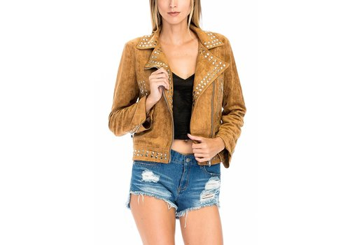 Olivaceous Tell Me About It Stud Jacket