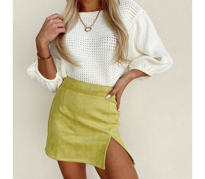 Límon Mini Skirt