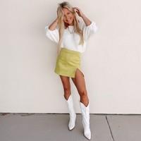 Límon Mini Skirt