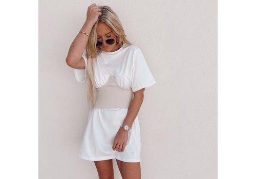 Et Etet Kimye Corset T-Dress