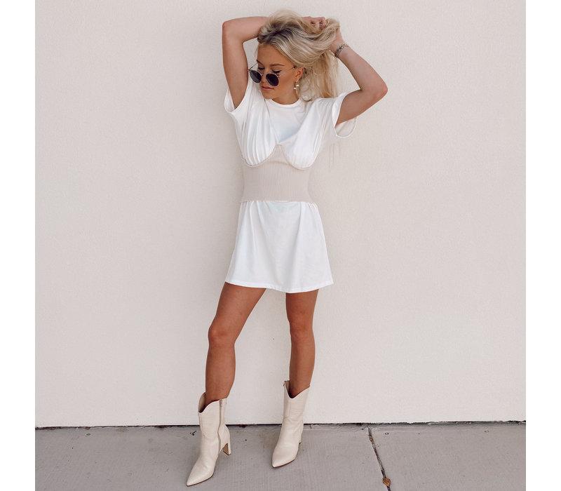 Kimye Corset T-Dress