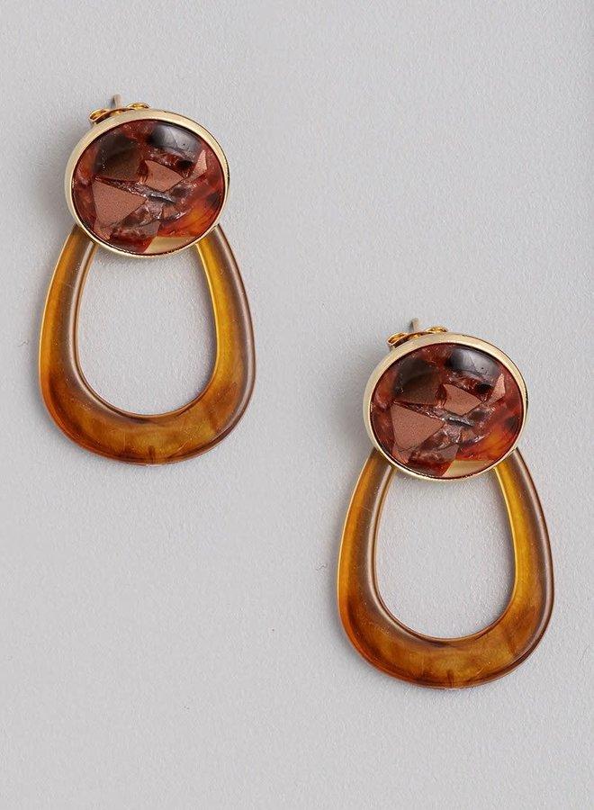 Charlie Acetate Earrings