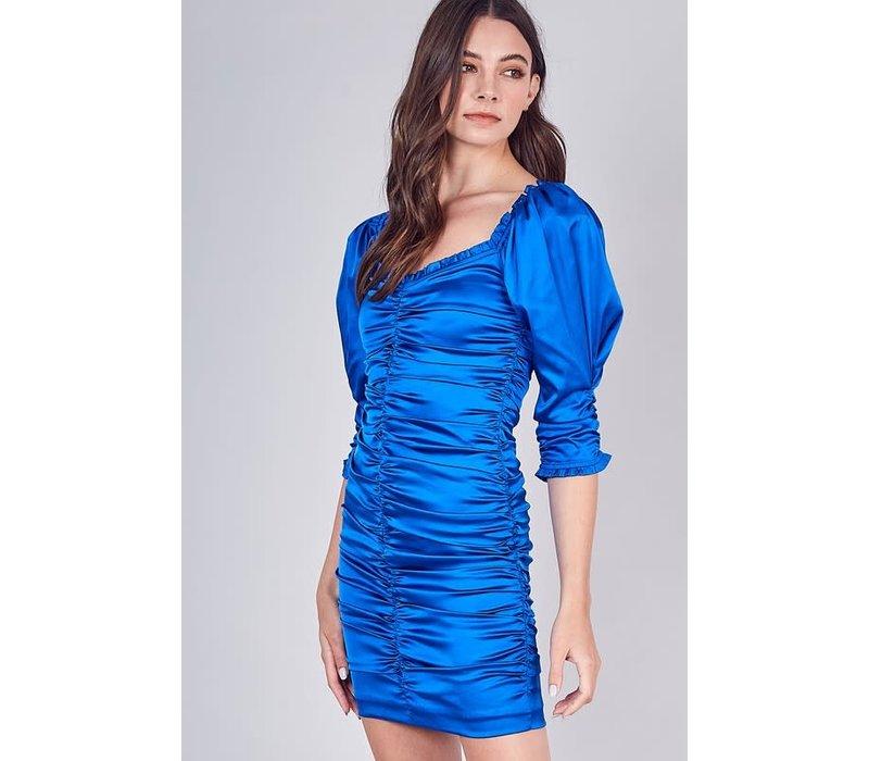 Skyline Silk Dress