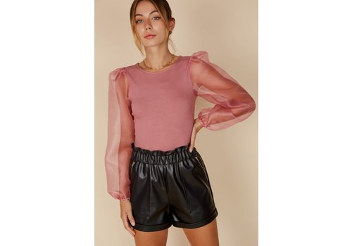 Blue Blush Too Cute To Care Top