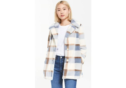 Z Supply Carmen Plaid Coat