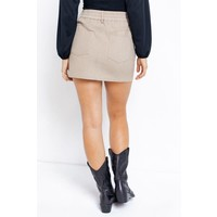Taupe Me The Truth Skirt