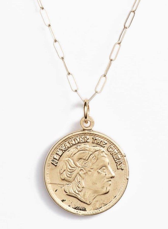 Alexander Coin Necklace