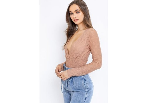 Le Lis Barely There Bodysuit