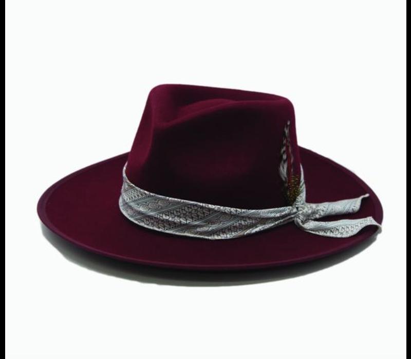 Skylar Feather Hat