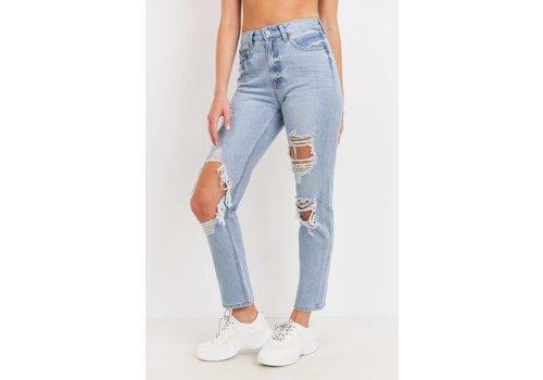 Just Black Jeans Frankie Destroyed GF Jeans