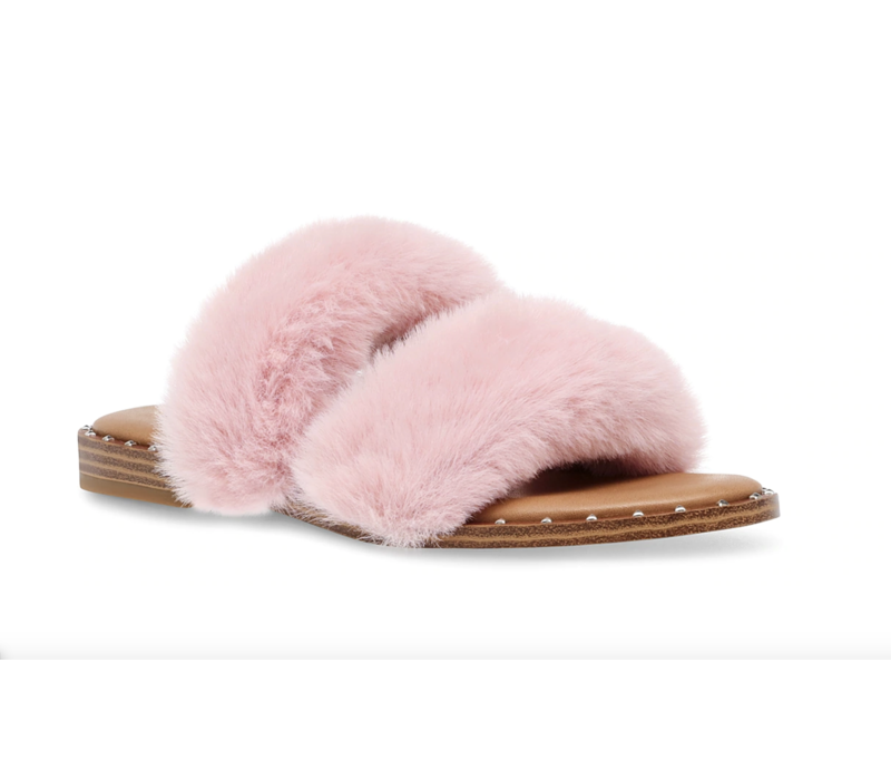 Enite Fur Sandal
