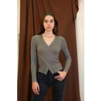Greylin Wrap Sweater