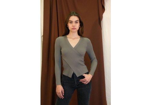 Et Etet Greylin Wrap Sweater