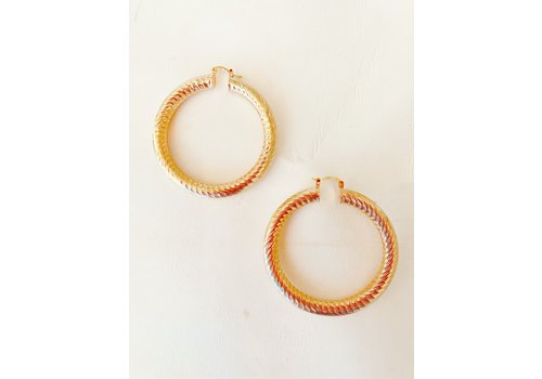 I.CCO Accessories XL In The Loop Hoops