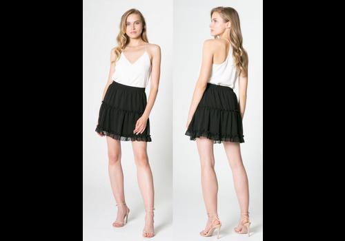Lavender Brown Almost Midnight Skirt
