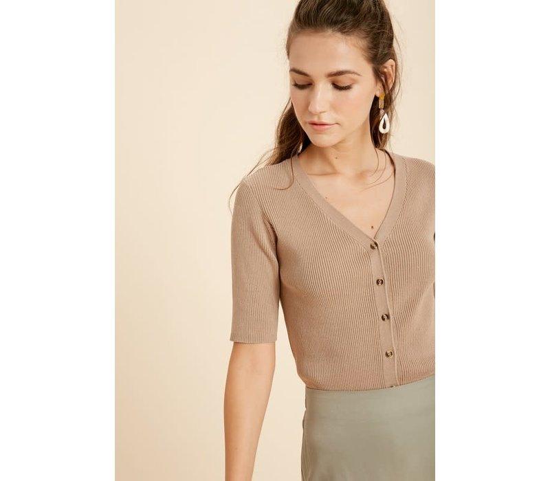 Aubrey Ribbed Shirt