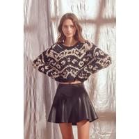 Better In Leather Skirt