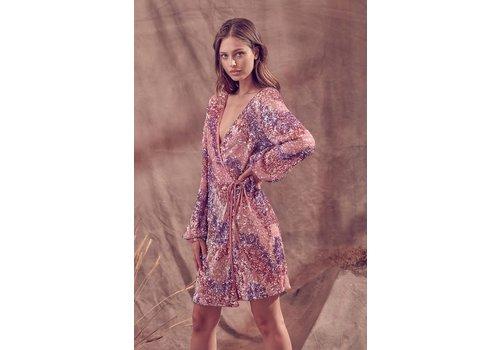 Stella Dallas Showstopper Wrap Dress