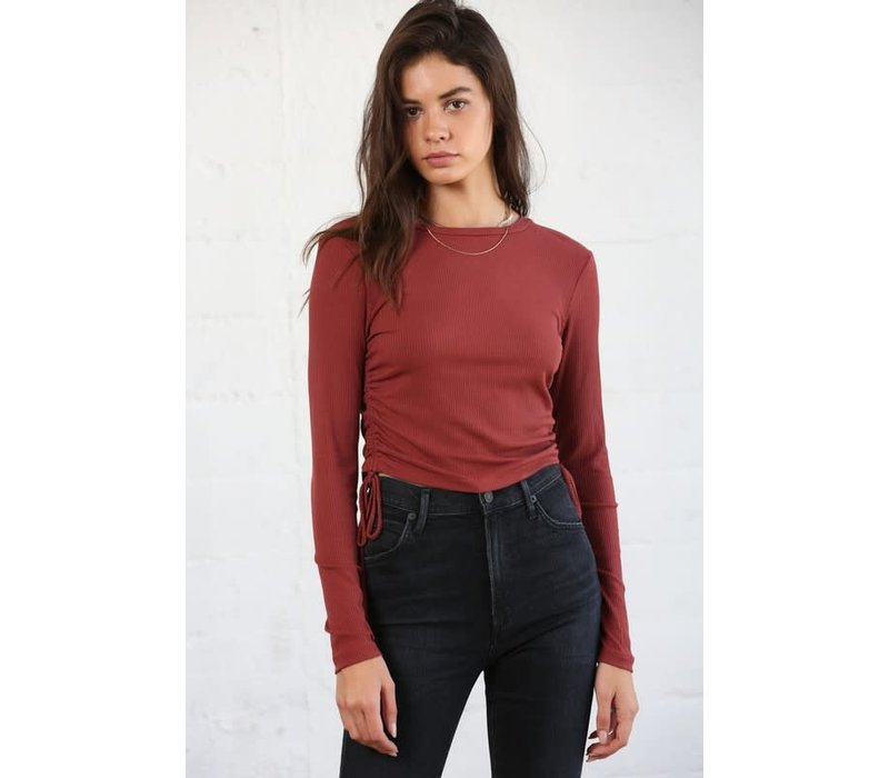 Nicolette Ruched Tee
