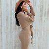Stella Dallas Caramel Sweater Dress