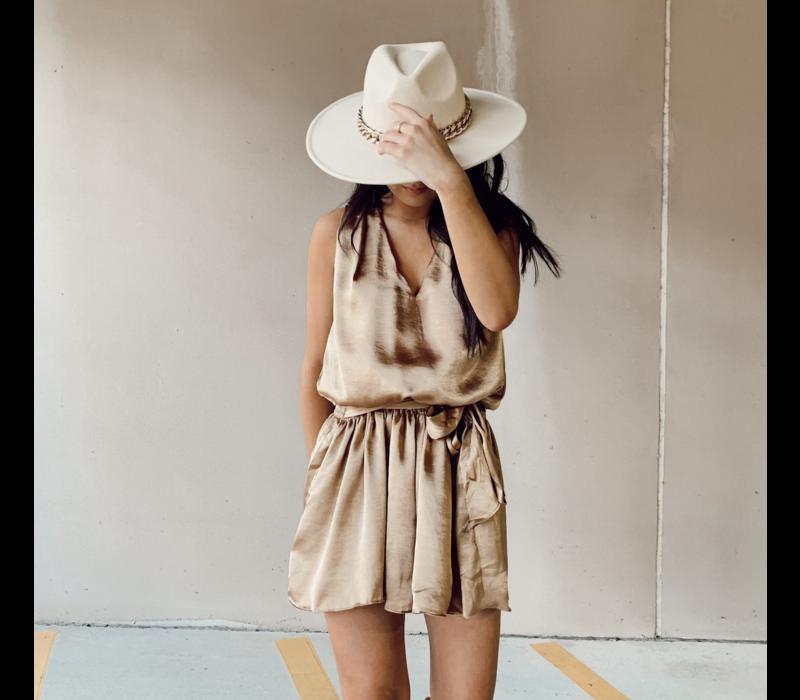 Renata Satin Dress