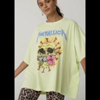 Metallica Flower Skull Tee