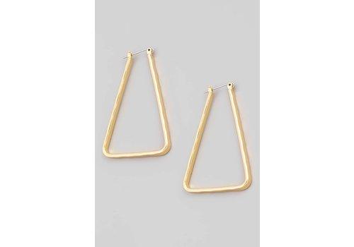 Fame Triangle Hoops