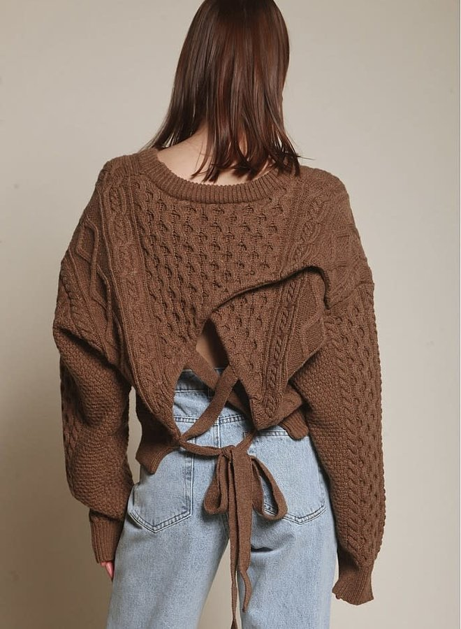 Keep Me Guessing Sweater