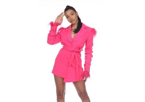 Fashion Nana Piper Feather Dress