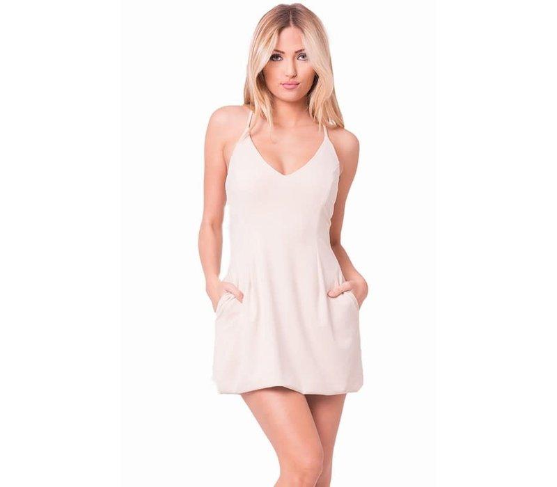 Aurora Suede Dress