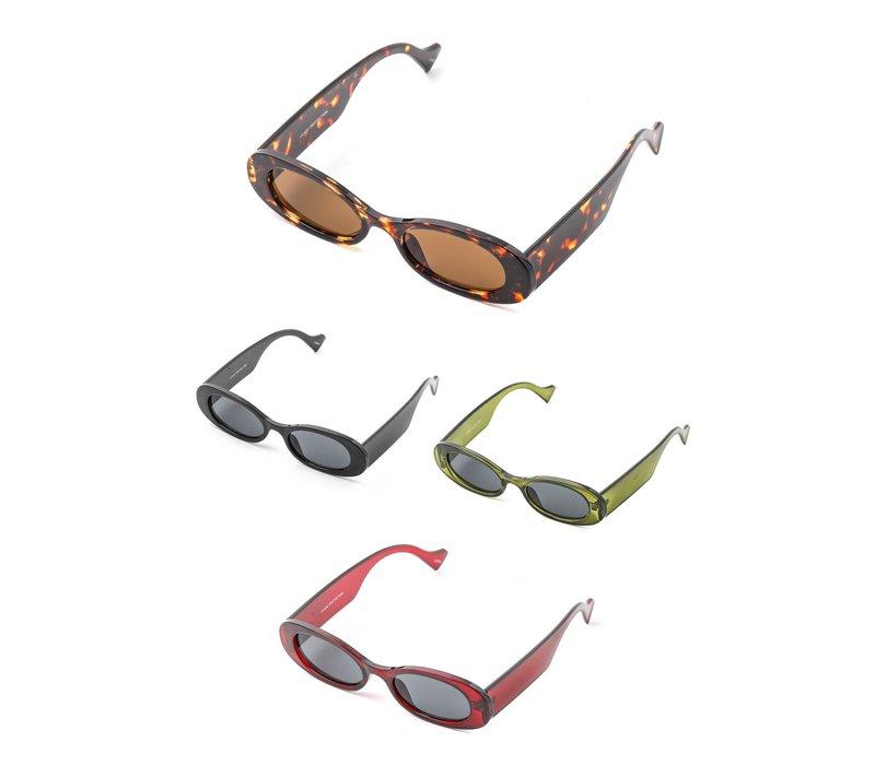 Spade Oval Sunglasses