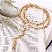Venice Layered Chain Necklace