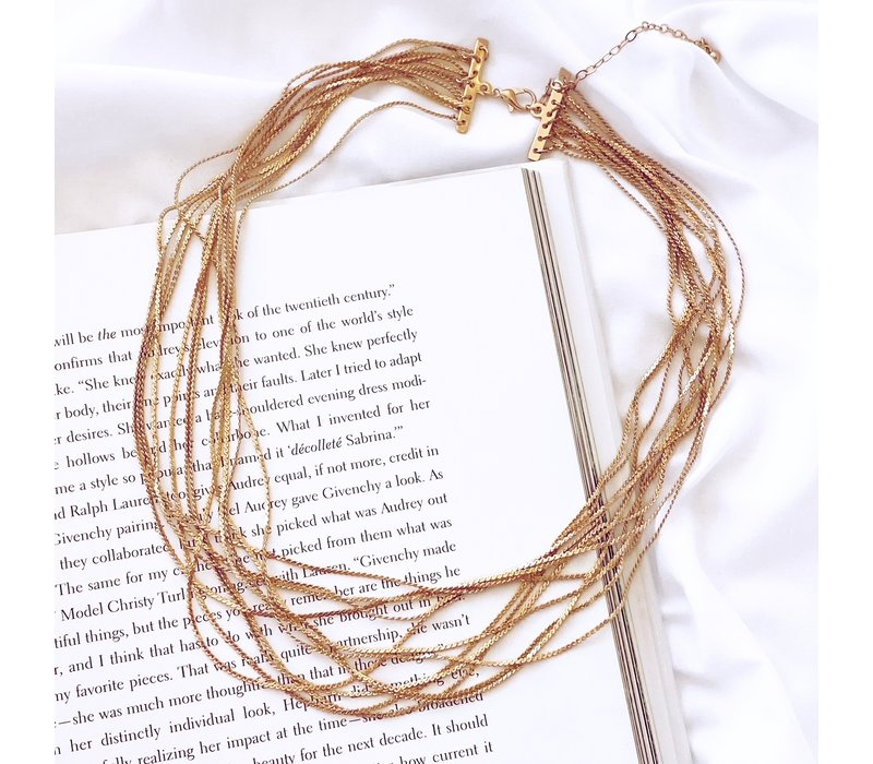Strappy Layering Necklace