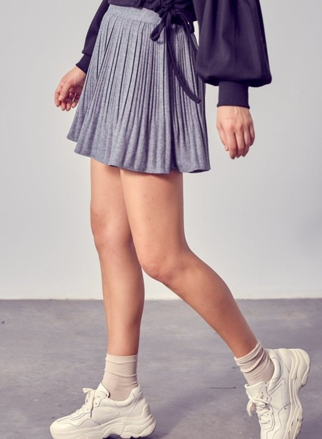Half Baked Pleated Skirt