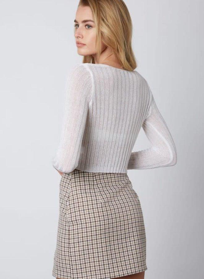 Prep School Mini Skirt