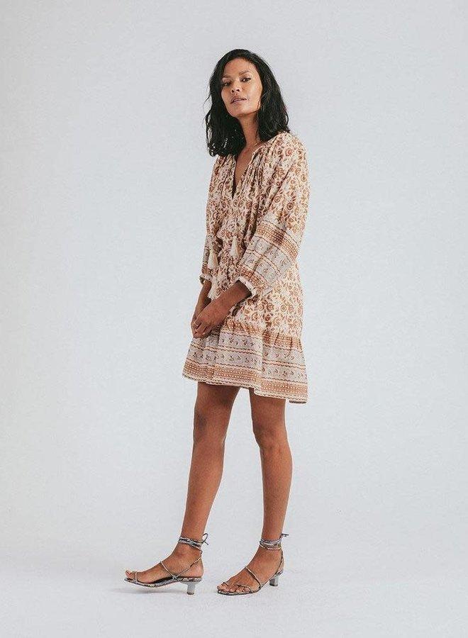 Rosy Mini Dress