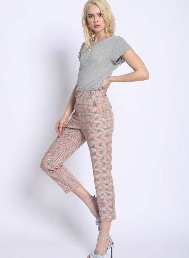 Danielle Plaid Pants